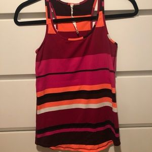 Lululemon Striped Workout Tank